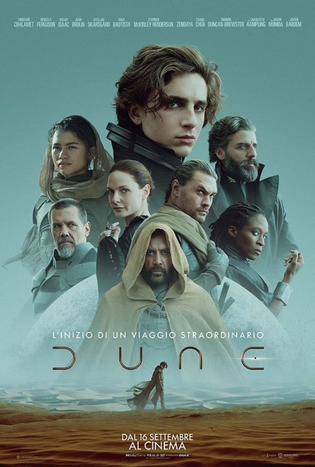 Dune 2021: l'epica delle sabbie