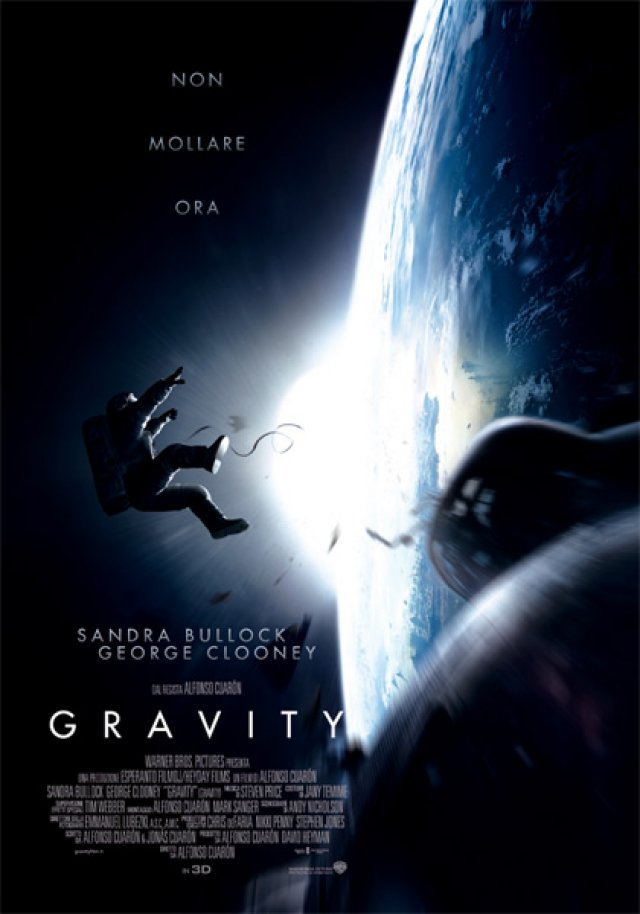 "Gravity - ""Planet Earth is blue..."""