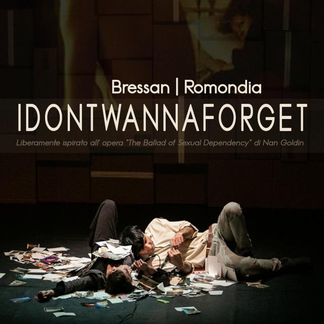 IDONTWANNAFORGET - Nan Goldin a teatro