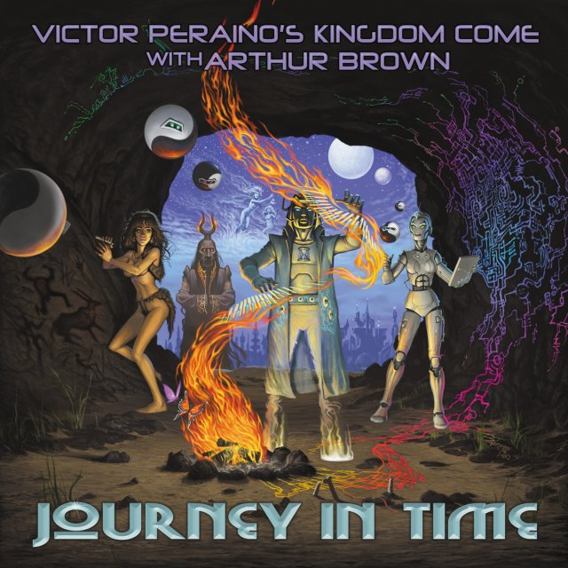 Victor Peraino con Arthur Brown - ritorna il Regno interstellare