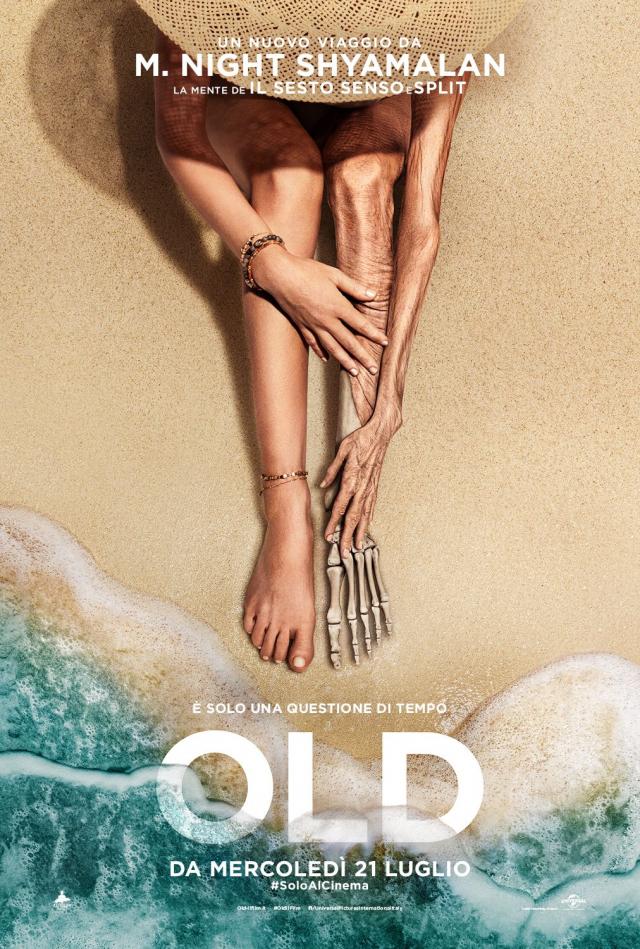 Old - invecchiare in un giorno. In paradiso.