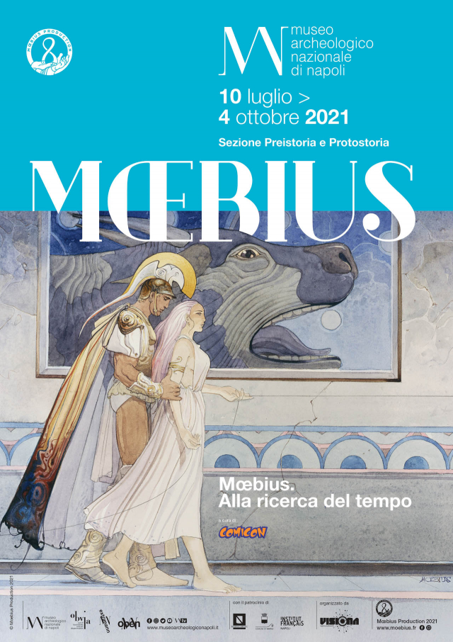 Mœbius e la fantascienza preistorica